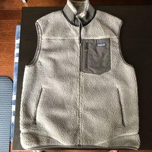Men's Gray Large Classic Retro-X Windproof Vest